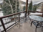 great views off the patio. Great for relaxing after a long day of hiking or sipping coffee in the morning to watch the...