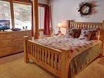Welcoming bedroom at Homestead