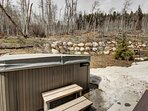Private Hot Tub at Keystone Sanctuary