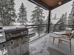 Grill out on the back deck