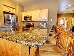 Upgraded granite counter tops