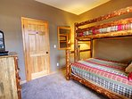 Bunk Room with private TV