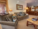 Unwind here after a full day on the slopes