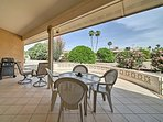 Relax in style at this Sun City West vacation rental home.