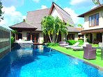 Refresh your mind and body with us! Try our pool and comfy bed :D