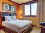Second Bedroom with a Queen Platform Bed