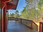 Head out to the deck to grill!