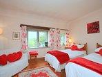 Bedroom 1 - twin cottage bedroom, 1 of 6 bedrooms