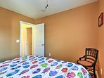 Find privacy in the intimate third bedroom.
