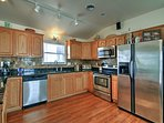 With stainless steel appliances, cooking will be a breeze!