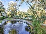 Forest Beach Villas Pond