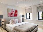 1 of 3 luxury bedrooms (king size UK standard)