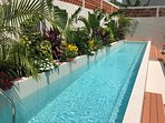 15m (50ft) Lap pool.  Perfect to take a little excercise or just to relax!