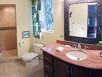 Wide view of your luxury bath!