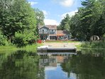 2 acres of lakeside loveliness