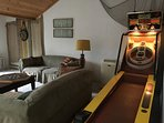 Vintage games room