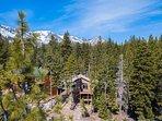 The mountains surrounding Echo Peak are your backyard.