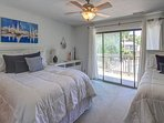 2nd Floor Guest Bedroom - 2 Doubles & 1 Twin