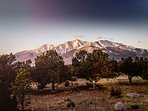 The sunrise over Mt. Princeton is an incredible site to see!
