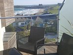 Balcony overlooking Fistral Beach