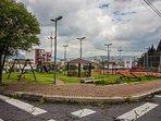 Parque del barrio tranquilo