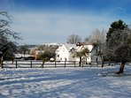 A snowy New Year at Tickeridge Farm?
