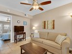 Living Room - Sandollar Townhomes Unit 11 Miramar Beach Destin Florida