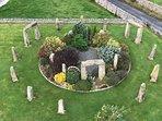 Stone Circle Garden Feature.