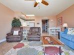 Celadon 2303-Living Area with Sleeper sofa