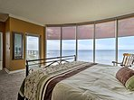 Two guests will wake up to incredible ocean views!