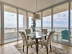 Wherever you go in the condo, you'll have fantastic ocean views.
