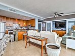 This spacious condo offers over 1,600 square feet of living space.