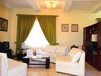 Recepción y sala de estar