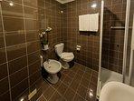 Bathroom 1 next to Bedroom 1 full bathroom shower box