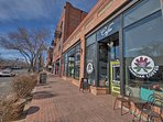 The quirky mountain town of Manitou Springs is just 10 minutes away.