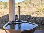 Steenbok Self Catering Cottage  - Wood Fired Hot Tubs