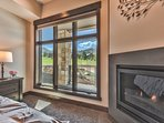 Enjoy the Natural Light and Mountain Views