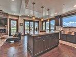 Gourmet Kitchen with Mountain Views