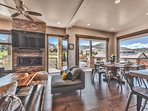 Deck Access on Every Wall with Amazing Park City Resort Mountain Views