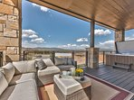 Patio Seating, a 6-8 Person Hot Tub and More Views
