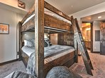 King over King Bunk Bed with Twin Trundle and Private Bath