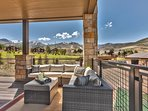 Large Deck with Golf Course and Mountain Views