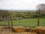 Cotswold View has spectacular uninterrupted views over the Windrush Valley
