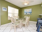 Dining Area Islander Beach 6009 Fort Walton Beach Okaloosa Island Vacation Rentals