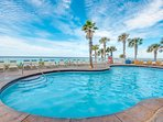 Splash offers a pool with unbelievable beach views!