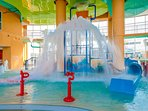 The whole family will love to get wet at the Splash Pad