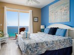 The King Master Suite is plush and inviting