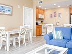 You'll be glad to know Sterling Reef 1702 also comes complete with a washer and dryer