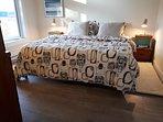 King size memory foam mattress.  Guarantee sweet dreams!