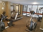 The Palms fitness room